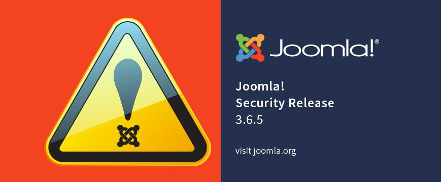 Joomla 3.6.5 security update